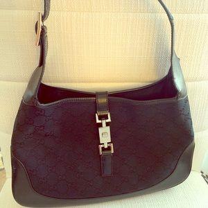 Gucci Jackie Black Shoulder Bag
